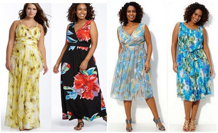 Платье летние фасоны