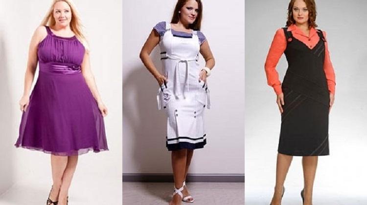 Модели платьев для полных женщин - советы по завершению образа