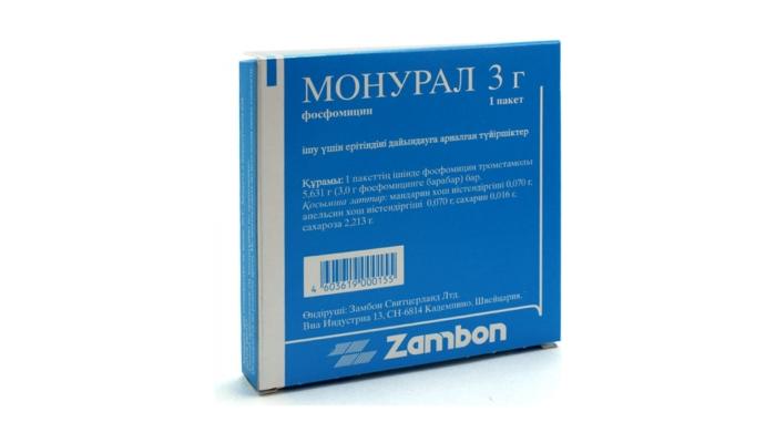 Быстрое лечение цистита у женщин таблетками: препарат Монурал