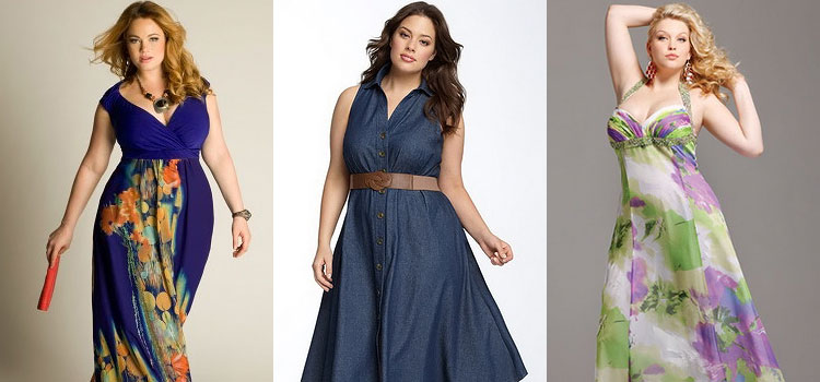 Как подобрать летнее платье полной женщине - советы по выбору фасона