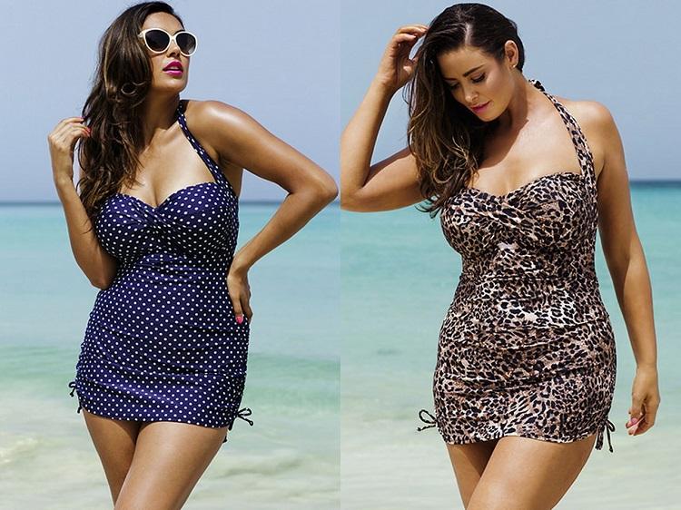 Купальник-платье для полных женщин и в чем его преимущества