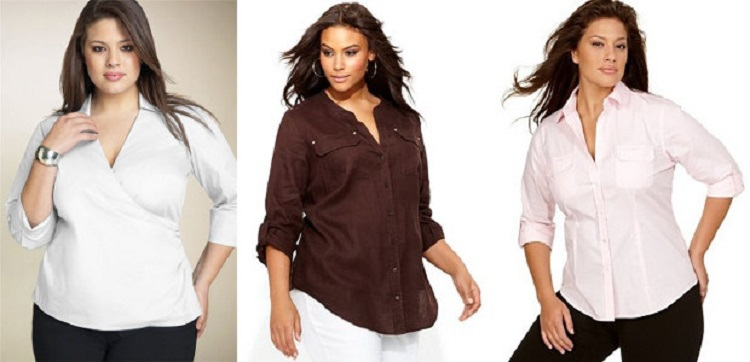 Красивые Блузки Для Полных В Самаре