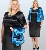 Нарядные платья для полных женщин на юбилей - как правильно подобрать