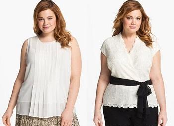 Советы по выбору блузок для полных женщин - как выбрать материал