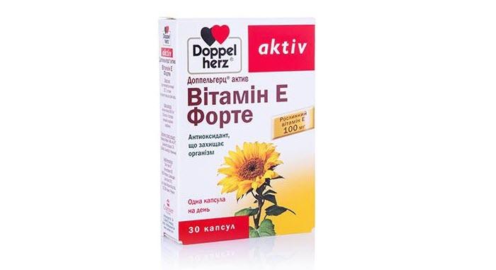Суточная доза витамина Е для женщин от фирмы Доппель Герц