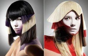 Блочное окрашивание темных и светлых волос