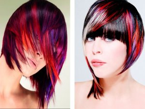 Выбор цвета при блочном окрашивании волос