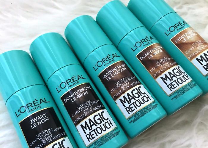 Спрей для закрашивания корней волос Лореаль: на сколько сохраняется результат?