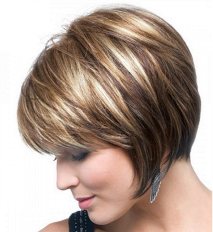Мелирование на темные волосы: мелкое и крупное