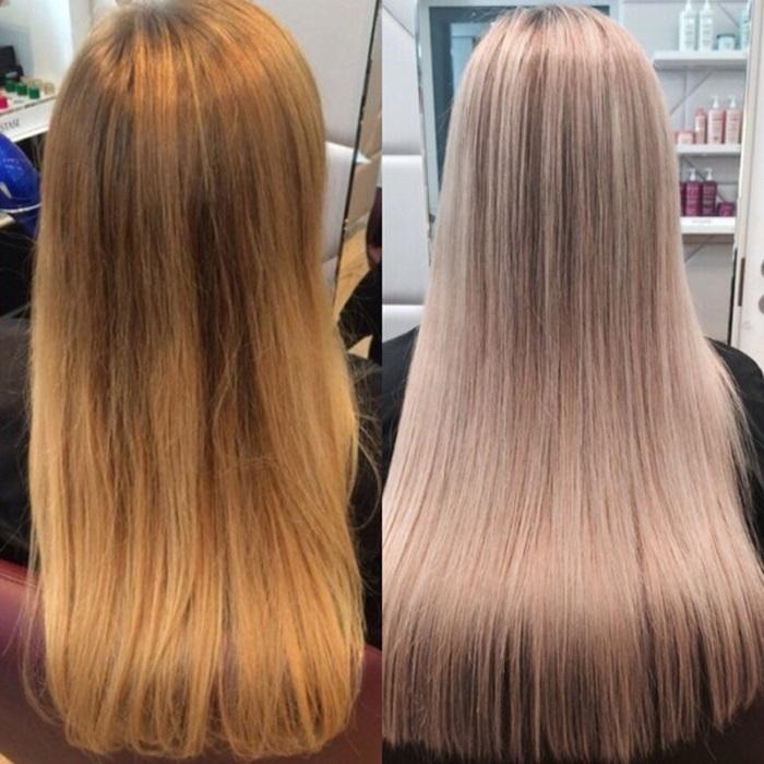 Тонирование волос в домашних условиях - на осветленные волосы