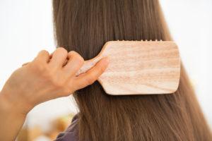 Результат использования масла для волос Moroccanoil