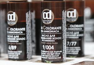Особенности использования масла для окрашивания волос Сonstant Delight