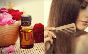 Аромарасчесывание с маслом черного тмина для волос