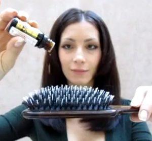 Аромарасчесывание с маслом лаванды для волос