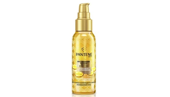 Масло для сухих и поврежденных волос: «Интенсивное восстановление» от Pantene Pro-V