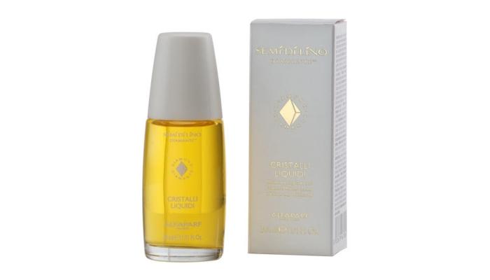 Масло для укрепления волос: Alfaparf SemiDiLino Diamante «Cristalli Liquidi»