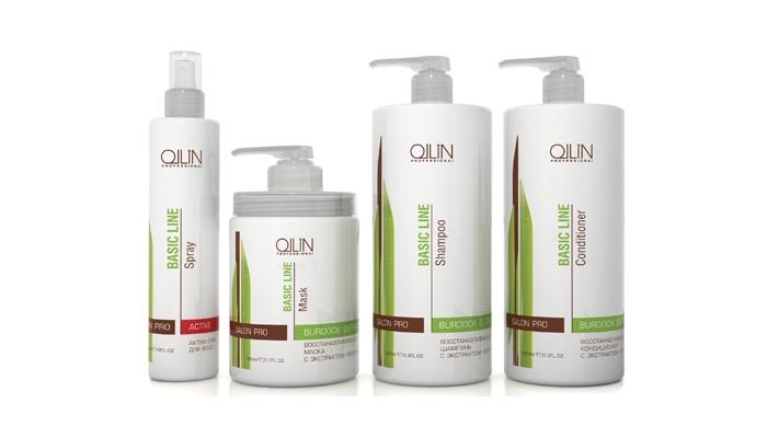 Масло для сухих и поврежденных волос: Ollin Professional