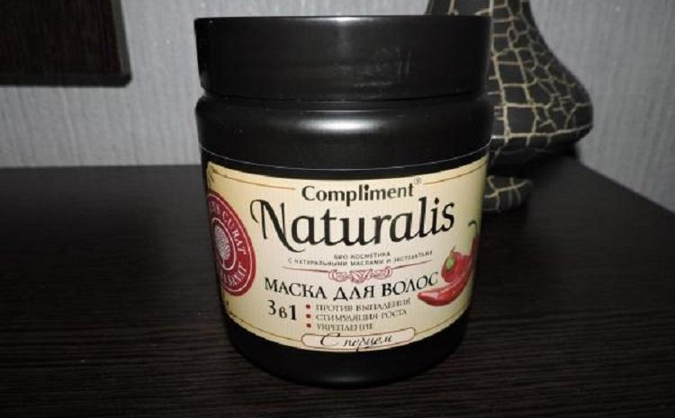 Compliment Naturalis 3 в 1 С Перцем - маска для ухода за волосами в домашних условиях