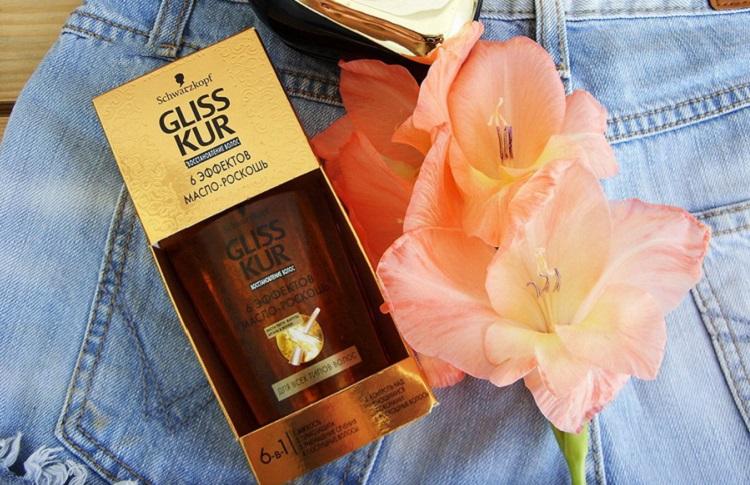 Gliss Kur 6 Эффектов - одно из самых эффективных масел для волос