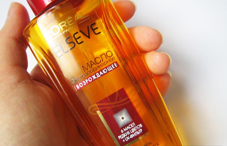 Loreal Elseve Экстраординарное 6 масел - как применять средство для ухода за волосами