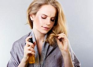 Масло-спрей для волос - как сделать продукт своими руками