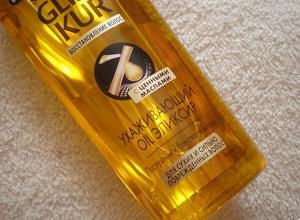 Меры предосторожности при применении масла для волос от Глисс Кур