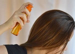 Особенности применения масла-спрея для ухода за поврежденными волосами