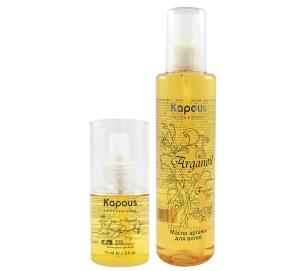 Масло арганы для волос Arganoil Kapous: описание средства