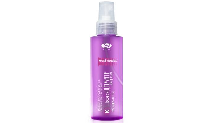 Масло для сухих и поврежденных волос: Lisap Ultimate Keratin Oil Plus