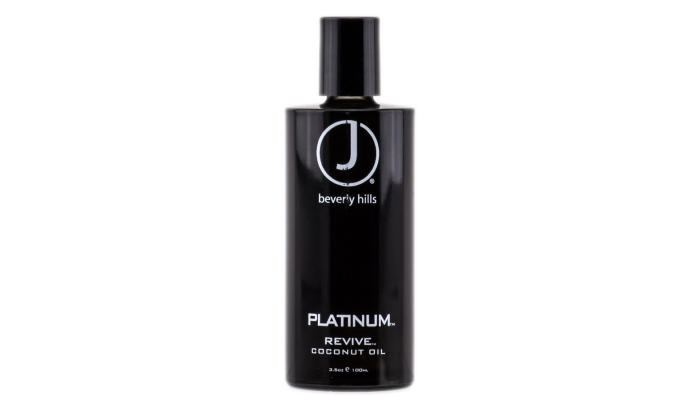 Масло для восстановления волос: J Beverly Hills Platinum Revive Coconut Oil