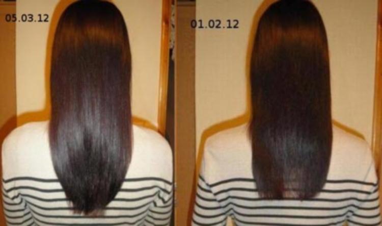 Маски для волос с касторовым маслом - фото до и после применения