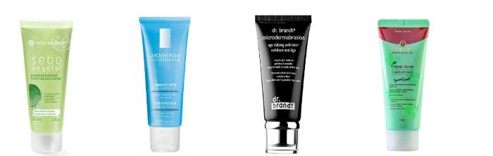 Скраб от шелушения для нормальной кожи лица