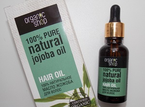 Масло для волос от Органик Шоп - описание натуральных средств и их эффективность