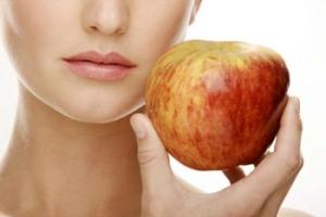 Фруктовый пилинг: рецепт из яблок