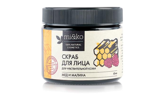 Лучший скраб для лица: Малина и мед от Мико