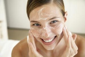Пилинг для лица хлоридом кальция для сухой кожи