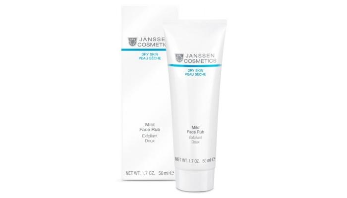 Пилинг для сухой кожи: мягкий скраб Janssen