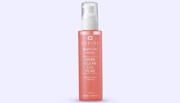 Пилинг для жирной кожи лица: Herb Clear Gel Pure от Cefine