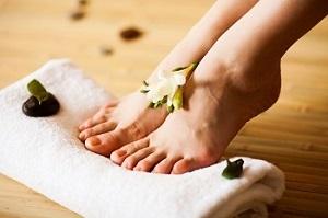 Пилинг для ног в домашних условиях