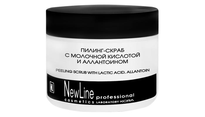 Пилинг с фруктовыми кислотами: Peeling scrub with lactic acid, allantoin