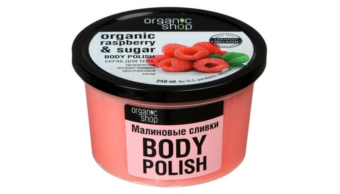 Пилинг тела: Organik Shop