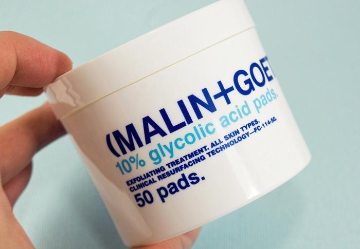 Легкий пилинг: Resurfacing Glycolic Pads от Malin+Goetz