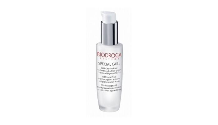 Пилинг в аптеке: концентрат с АНА-кислотами для уменьшения морщин и выравнивания тона кожи от Biodroga