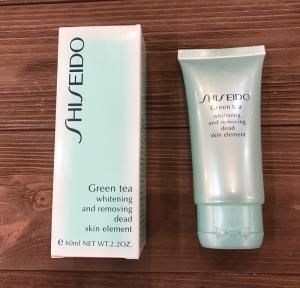 Пилинг Шисейдо (Shiseido Green Tea) для лица: состав и предназначение