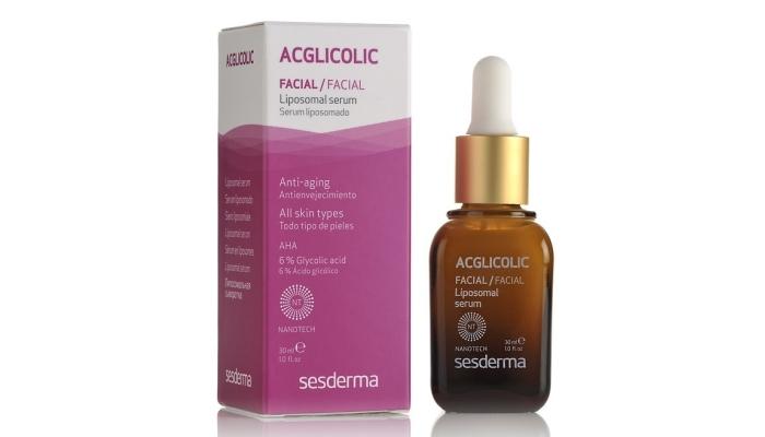Ночной пилинг для лица: Acglicolic Liposomal Serum, Sesderma (6% г.к.)