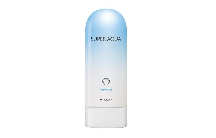 Пилинг-скатка для лица: Missha Super Aqua Detoxifying Peeling Gel